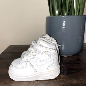 Infants Air Force 1 white size 2c